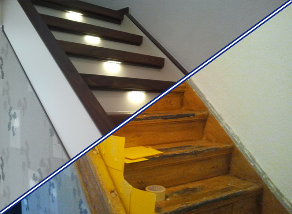 treppenrenovierung mit dem markenprodukt rheingold. Black Bedroom Furniture Sets. Home Design Ideas