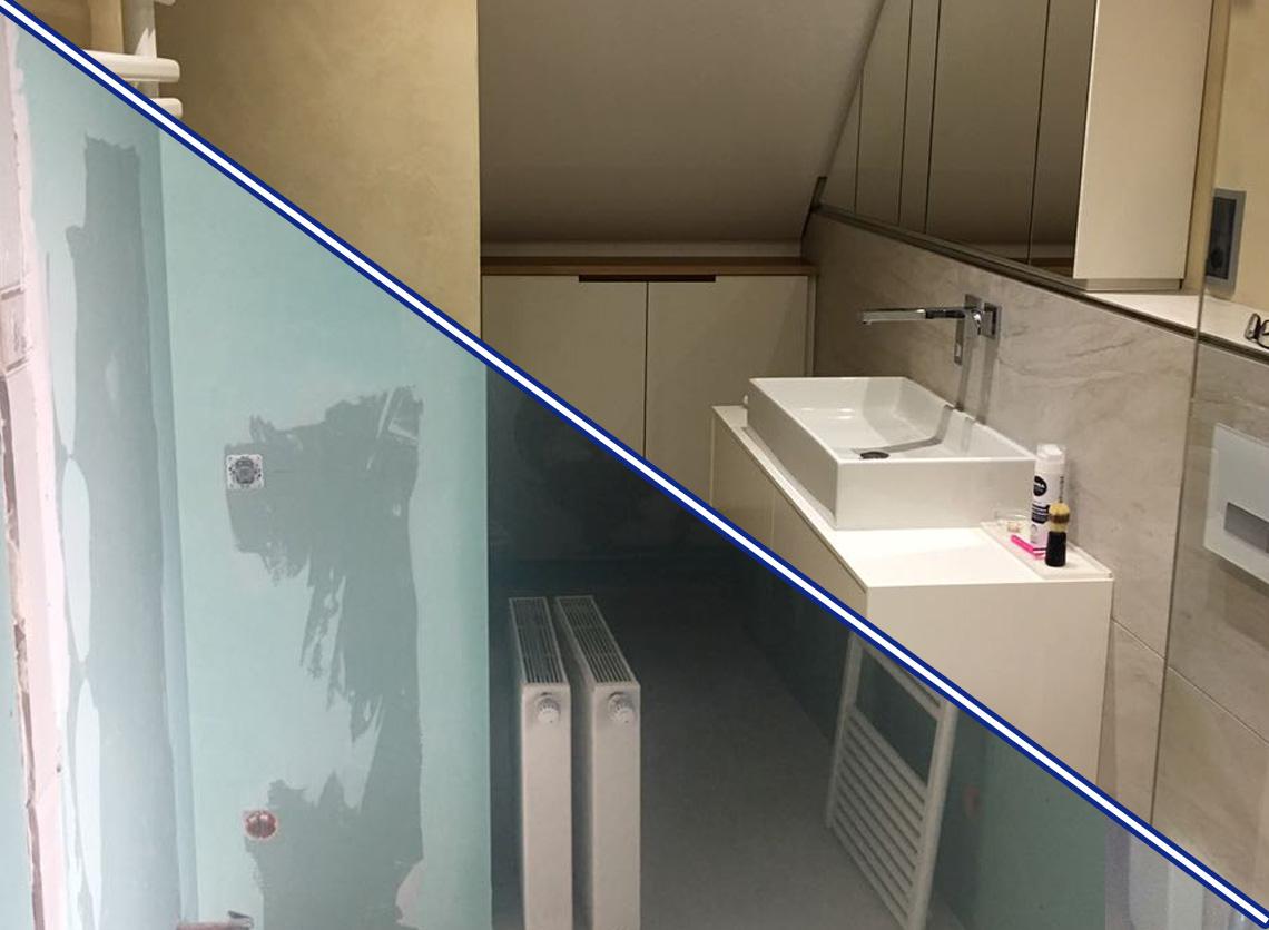 sanierung eines badezimmers stepup systembau. Black Bedroom Furniture Sets. Home Design Ideas